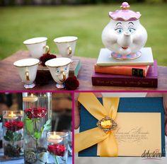 Festa a Bela e a Fera - Debuteen - O Blog da Debutante