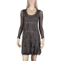 Robe courte Maloka couleur marron  -Hope - - Mode-lin.com