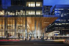 Bank of America Tower at One Bryant Park, #LEED Platinum, New York, NY by Cook + Fox Architects