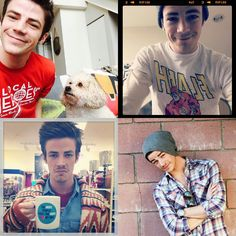 My favorite pictures of Grant Gustin <3<3<3<3<3<3<3<3