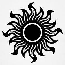 Resultado de imagen para Sol negro diseños