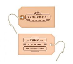 Common Man Brand Design
