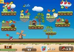 Mario Atrapa Frutas