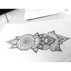 Today's fun! So excited. @spacebyrdz  #mandala #mandalatattoo #tattoos #sacredgeometry #blackworker