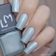 LMcosmetic - Quadrille / Collection Danse Classique #nailart #neutral #polish #glitter - bellashoot.com