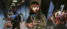 Incredible Movie Paintings, Justin Reed Art Gallery