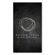 Designer Scribble Logo on Black Grunge Metal Business Card Templates. This is a fully customizable business card and available on several paper types for your needs. You can upload your own image or use the image as is. Just click this template to get started!