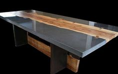 Dining Table by Keelin Kennedy, Barefoot Design, Chicago, IL