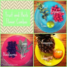 Fruit and Herb Flavor Combos