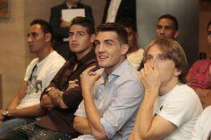 Keylor, James, Mateo y Luka