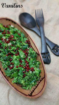 Ispanak Salatası  Narlı Ispanak Salatası  Ispanak Salatası Tarifi   Bayramdan önce telefonumun ...