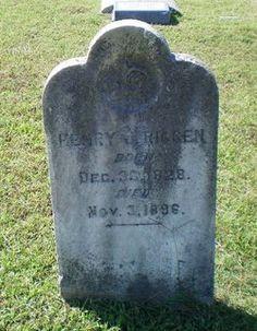 Pvt Henry J Riggen 1828 thru 1896 Co B & K 1st Eastern Shore MD Infantry; Co D 11th MD Infantry.  Union. Buried VA