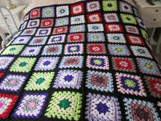 "$64.5 large hand crochet multi coloured throw/ blanket 72"" x 65"" #BabyCribBeddingSets #NurseryBeddingSet Baby Crib Bedding Sets, Hand Crochet, Blanket, Room, Bedroom, Baby Boy Bedding Sets, Rug, Blankets, Cover"