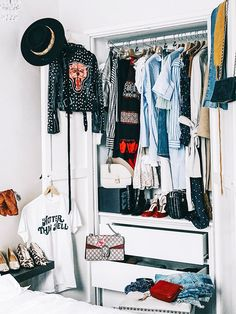 The Best Wardrobe Edit Tips All in One Place via @WhoWhatWear