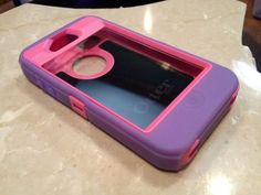 OtterBox i Phone 4 4S Defender Series Purple/Pink Otter Box - FREE SHIPPING! | eBay