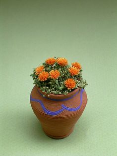 Hey, I found this really awesome Etsy listing at https://www.etsy.com/listing/164175780/marigold-flower-kit-for-112th-scale