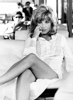 Monica Vitti - one of the best Italian actress of the 60s.