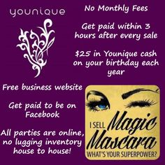 The perks of becoming a Younique presenter! http://www.youniqueproducts.com/samanthasalyards/business/presenterinfo