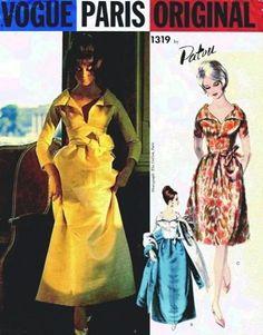 RARE Vogue Paris Original Pattern 1319 Patou by ALadiesShop, $195.00