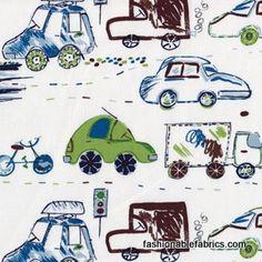 Crayon Commute Pool by Alexander Henry Fabrics 7485B