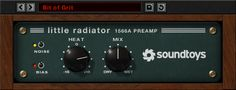 A little tube heat and tons of vibe. Inspired by the Altec 1566a pre-amp.