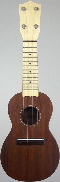 "New pic of my ""Stumpy"" Brüko prototype Sopranino #LardysUkuleleOfTheDay ~ https://www.pinterest.com/lardyfatboy/lardys-ukulele-of-the-day/ ~"