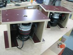 124 Mini Portable Router Table