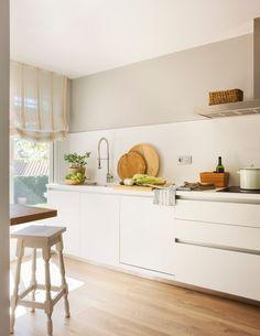 90 veces he visto estas espléndidas cocinas vintage. Moraira, Cuisines Design, Minimalist Living, Modern Minimalist, Scandinavian Interior, Home Decor Furniture, Cool Kitchens, Sweet Home, Kitchen Appliances