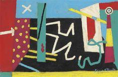Stuart Davis, Composition (June Jitterbug Jive)