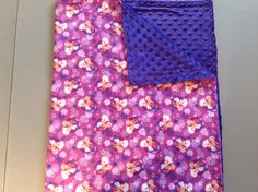 purple Disney Frozen Else and Anna with purple dimple small blanket for travel or in the stroller. Small Blankets, Stroller Blanket, Dimples, Disney Frozen, Snuggles, Floral Tie, Anna, Purple, Baby