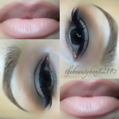 Cool smokey eye