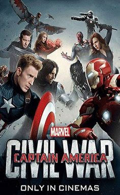 Captain America: Civil War Concession & Promo Images - Cosmic Book News