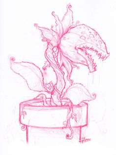 piranha plant drawing - Google Search