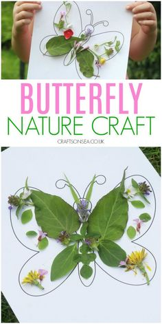 30+ Stunning Nature Crafts for Kids - HAPPY TODDLER PLAYTIME