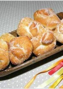 beignet de Christophe Felder Beignets, Empanadas, Christophe Felder, Bon Dessert, Eclairs, Pretzel Bites, Doughnuts, French Toast, Bread