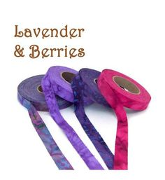 Fabric strip collections in fun color combinations encourage creativity with crafts - locker hook, knit, crochet, mixed media, jewelry