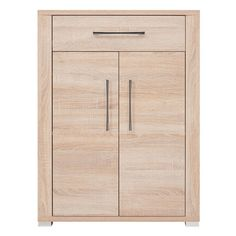 Brand Cabinet Wood Effect 2 Doors 1 Drawer | New Hallway Furniture GO KOM2D1S