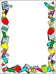 Bordas pedagógicas coloridas com o tema escola! Bordas escolares! Boarder Designs, Frame Border Design, Page Borders Design, Legs Mehndi Design, Mehndi Designs, Math Border, Farm Kids, Kids Background, Borders And Frames
