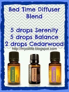 Bed Time Diffuser Blend