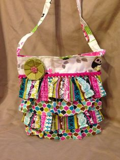 homemade totes for little girls   Adorable purse for little girls!   Bags