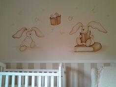 Murales infantiles pintados en paredes www.decopared.com