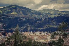 Cuenca, Ecuador and the Andes mountain range