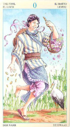 The Fool - Universal Goddess Tarot by Maria Caratti and Antonella Platano Major Arcana Cards, Tarot Major Arcana, Tarot The Fool, Tarot Prediction, Online Tarot, Tarot Learning, Sea Witch, Tarot Card Decks, Archetypes