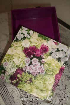 Caixa Flores - R$ 15,00 Cod. PCX 014