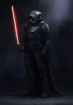 Interesting Darth Vader Redesign by Steve Wang — GeekTyrant