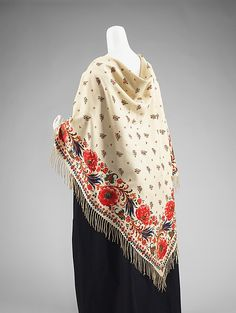 Shawl / Department Store: Anton Thum Date: fourth quarter 19th century Culture: Czech