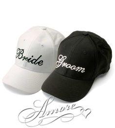 Wedding Bride and Groom Baseball Caps-Black / Velcro Adjustable Hats / 100 %Cotton Amore Petals,http://www.amazon.com/dp/B002BJYWB6/ref=cm_sw_r_pi_dp_izVMsb0QCVPY79E8