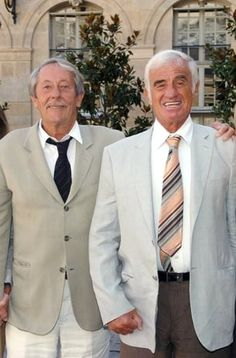 Jean-Paul Belmondo et Jean Rochefort