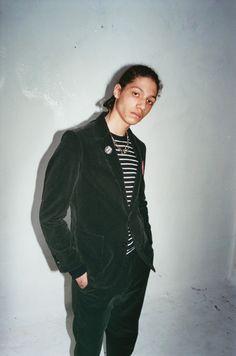 Supreme x Adam Kimmel Skate Street, Playboy, Corduroy, Supreme, High Neck Dress, Mens Fashion, Blazer, Suits, Jackets