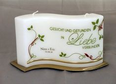 Hochzeit Such Und Find, Candels, Butter Dish, Home Decor, Xmas, Decorating Candles, Getting Married, Idea Paint, Diy